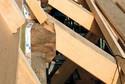 Rekonstruktion der ursprünglichen Dachkonstruktion