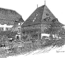Die Höchhüser, Oktober 1908